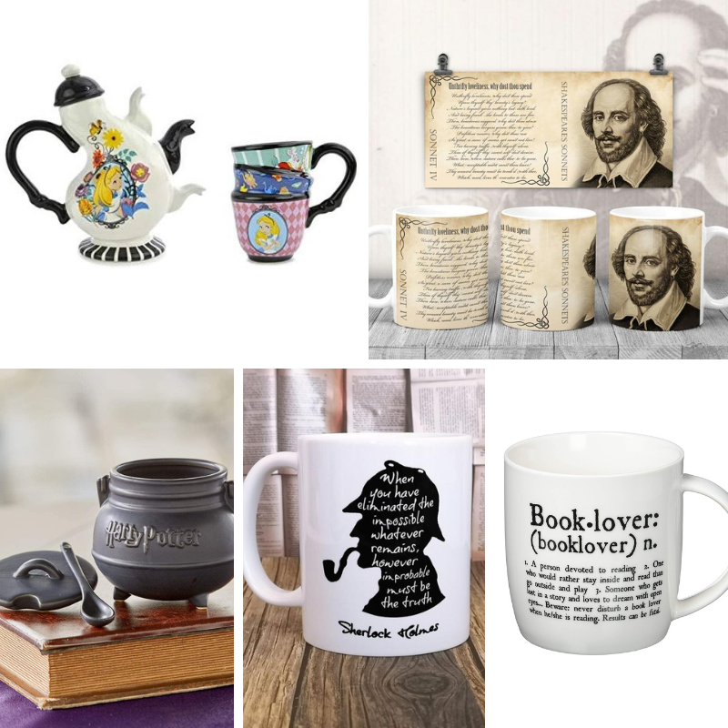 Regali per lettori (e scrittori): tazze letterarie