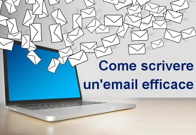Come scrivere un'email efficace? Con semplicità.