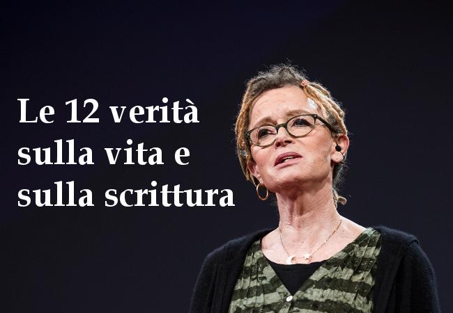 Le 12 verità sulla vita e sulla scrittura di Anne Lamott. Foto originale di Bret Hartman/TED