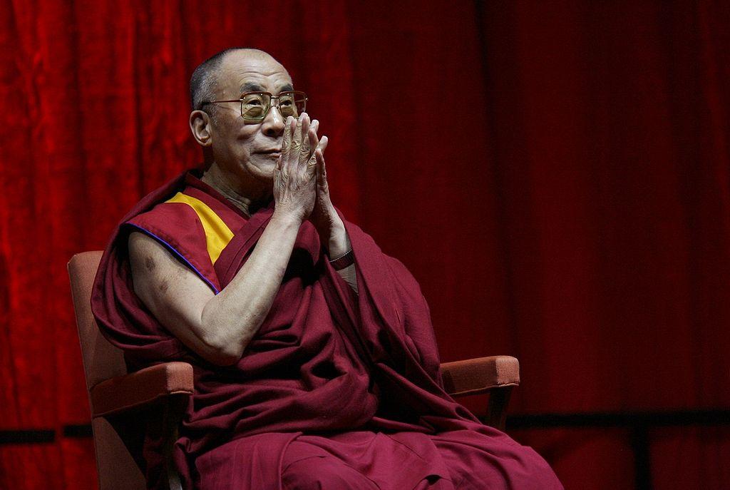Il 14esimo Dalai Lama Tenzin Gyatso