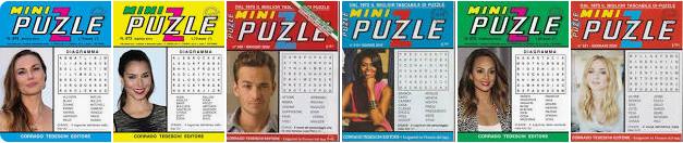 Le vacanze iniziano con l'enigmistica. Mini Puzzle