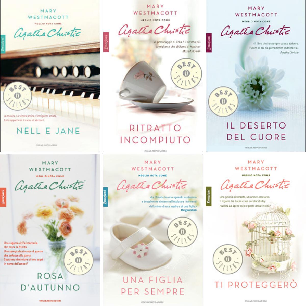 Mary Westmacott (Agatha Christie) - Tutti i romanzi per Mondadori