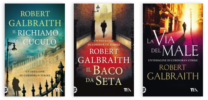 Robert Galbraith. La serie di Cormoran Strike
