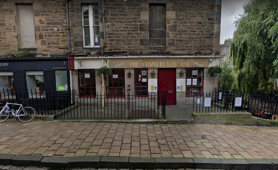 The Cumberland Bar - Edinburgh